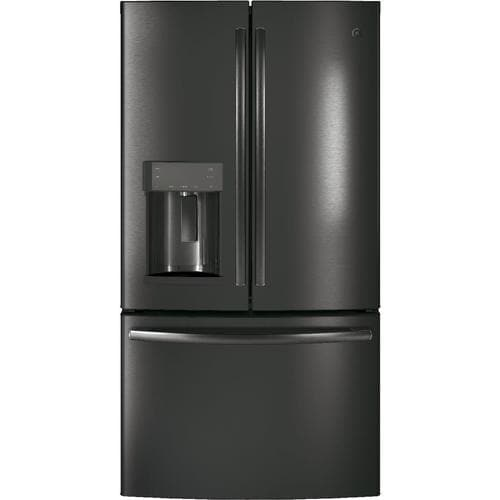 Ge 22 2 Cu Ft Counter Depth French Door Refrigerator With