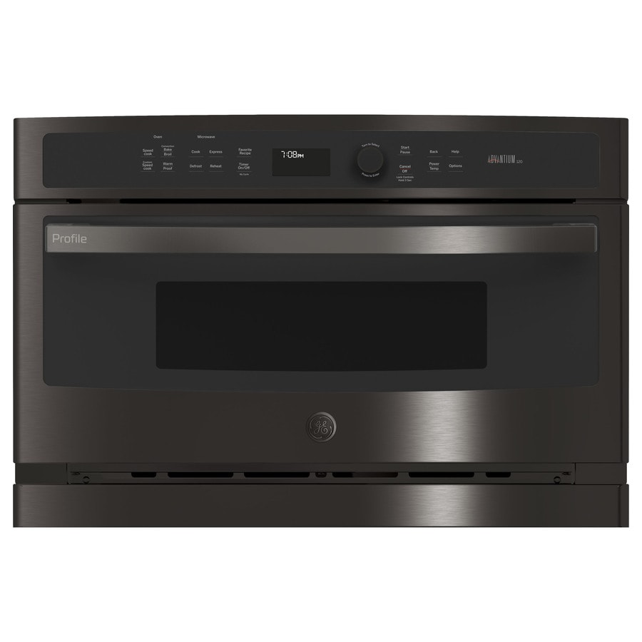 Ge Profile Advantium 1 7 Cu Ft Microwave With Sensor Cooking Controls And Sd Cook