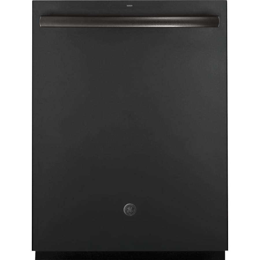 Shop Ge 24 In Black Dishwasher With Piranha Hard Food: Shop GE 46-Decibel Built-In Dishwasher With Bottle Wash