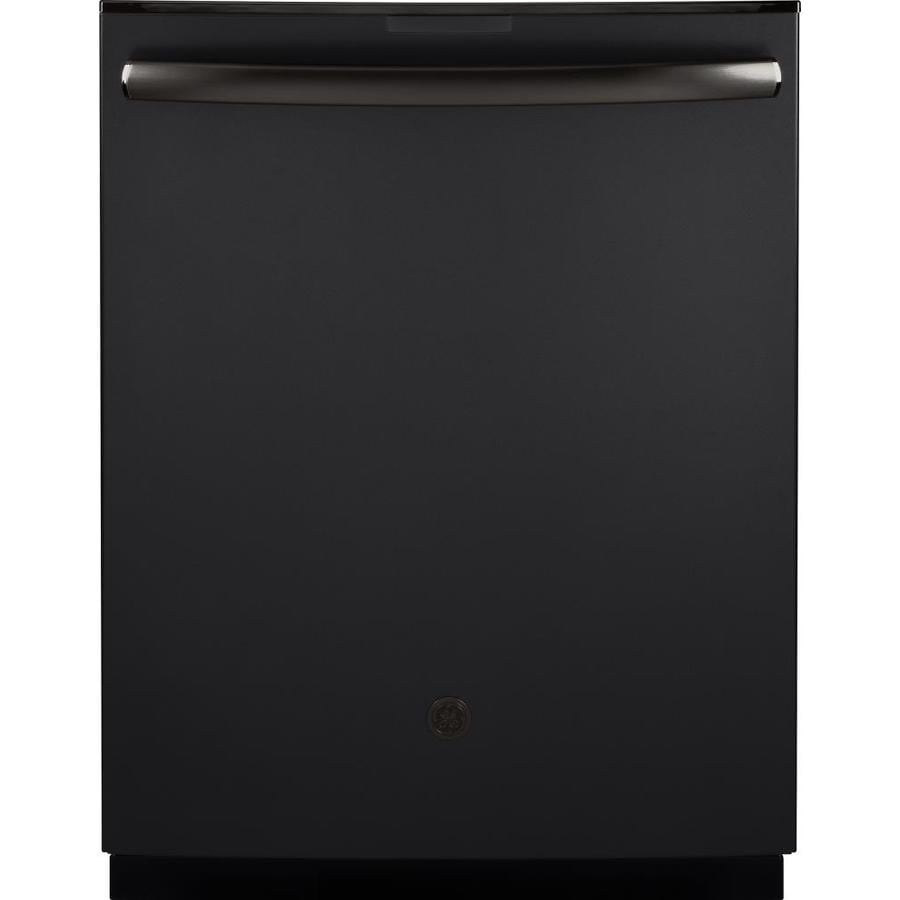 GE Profile 40-Decibel Built-In Dishwasher with Bottle Wash and Hard Food Disposer (Fingerprint-Resistant Black Slate) (Common: 24-in; Actual: 23.75-in)
