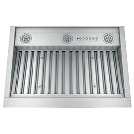 Ge 30 In Ducted Stainless Steel Undercabinet Range Hood Insert Common Inch