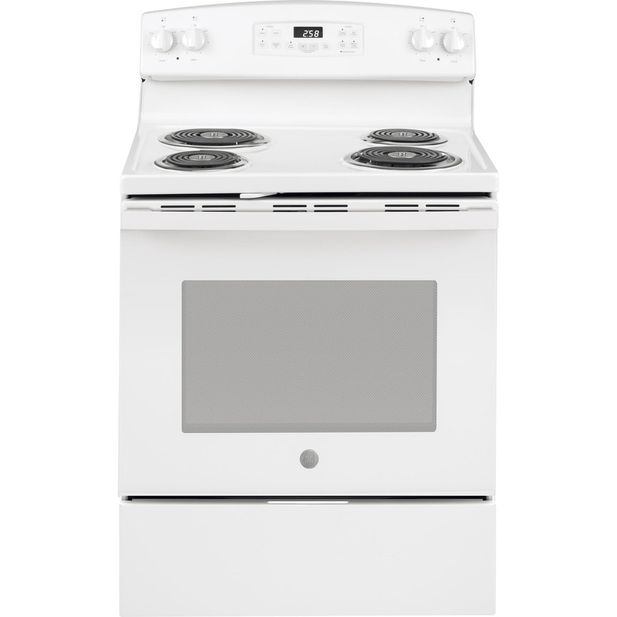 Ge 5 3 Cu Ft Self Cleaning Freestanding Electric Range