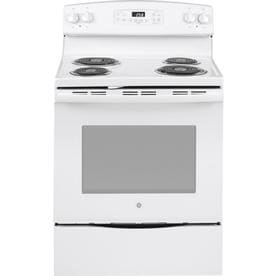 Ge 5 3 Cu Ft Self Cleaning Freestanding Electric Range White Common