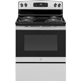 Ge 5 Cu Ft Freestanding Electric Range Stainless Steel Common 30