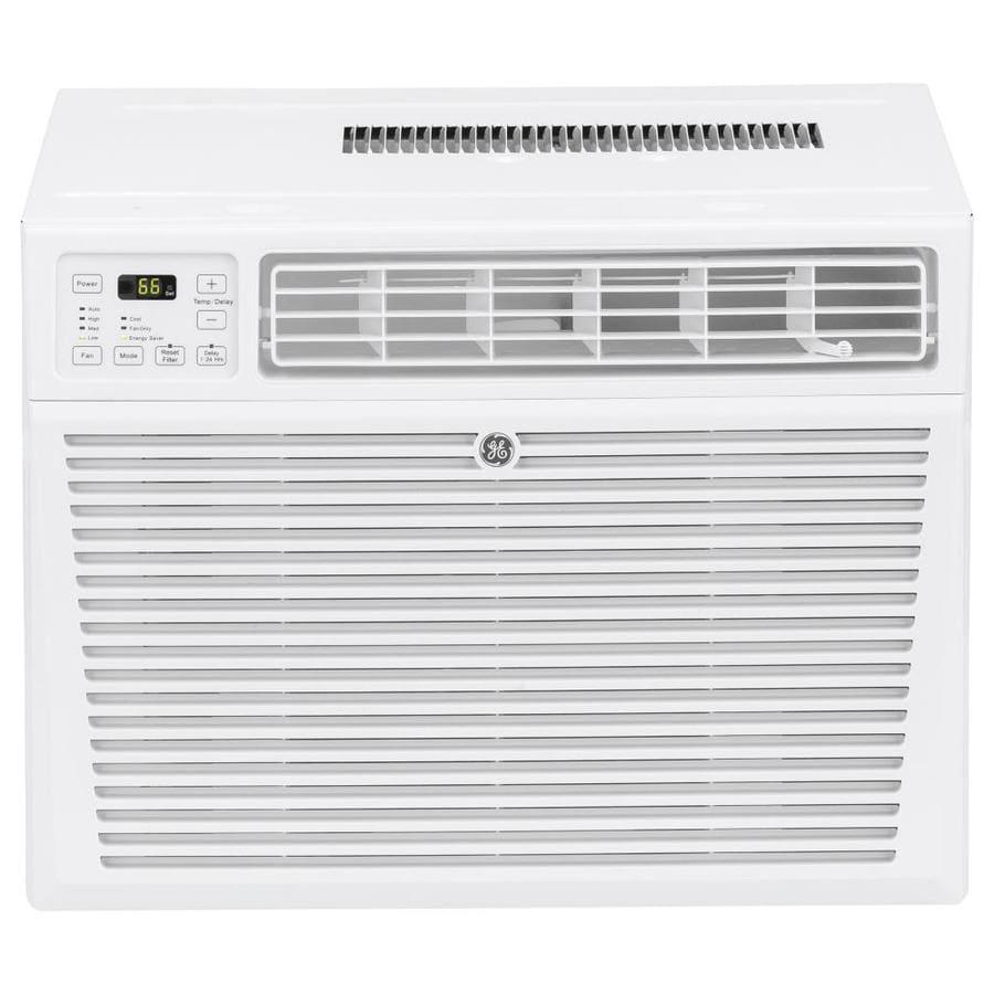 shop ge 1500 sq ft window air conditioner 230 volt 24000 btu energy star at. Black Bedroom Furniture Sets. Home Design Ideas