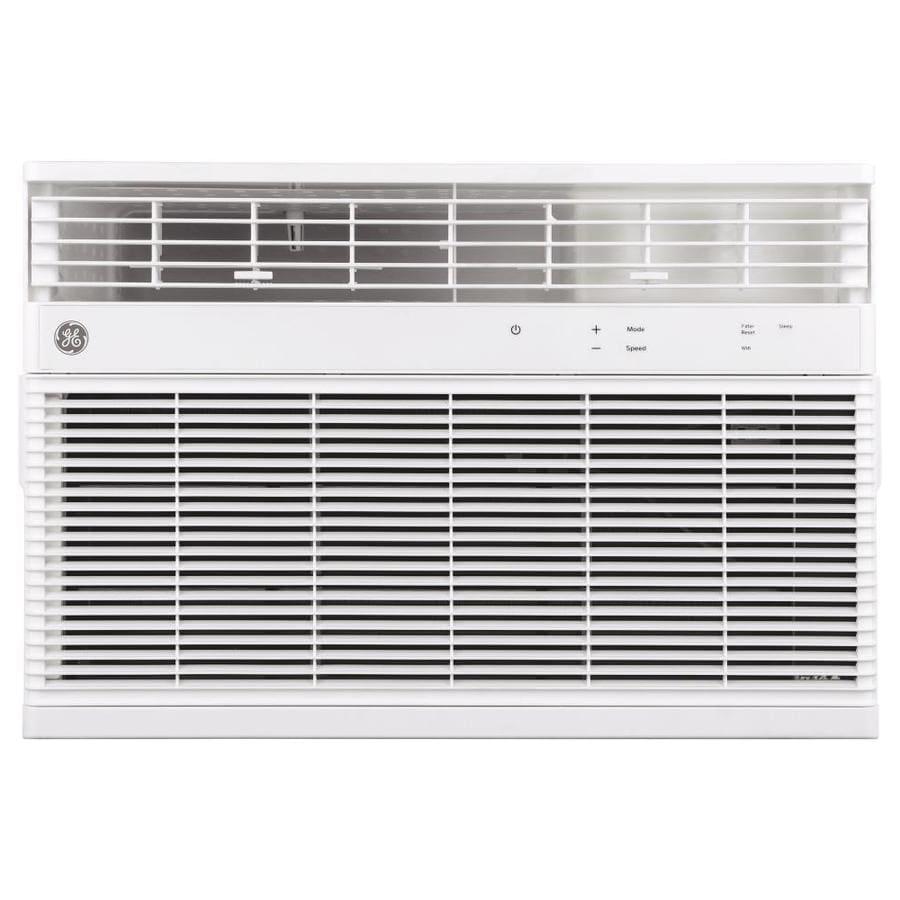 shop ge 450 sq ft window air conditioner 115 volt 10000 btu energy star at. Black Bedroom Furniture Sets. Home Design Ideas