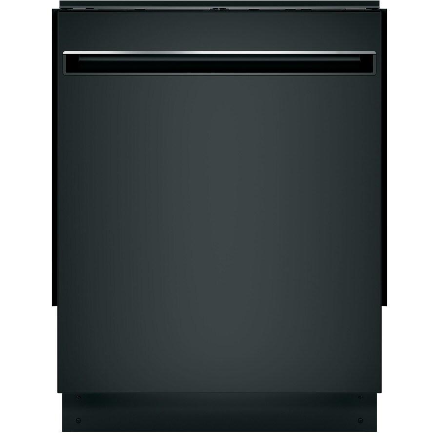 Shop Ge 24 In Black Dishwasher With Piranha Hard Food: GE 51-Decibel Hard Food Disposer Built-in Dishwasher