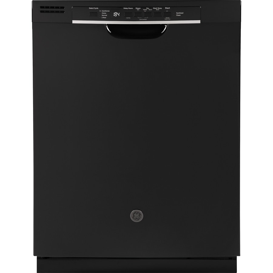 Shop Ge 24 In Black Dishwasher With Piranha Hard Food: GE 54-Decibel Hard Food Disposer Built-in Dishwasher