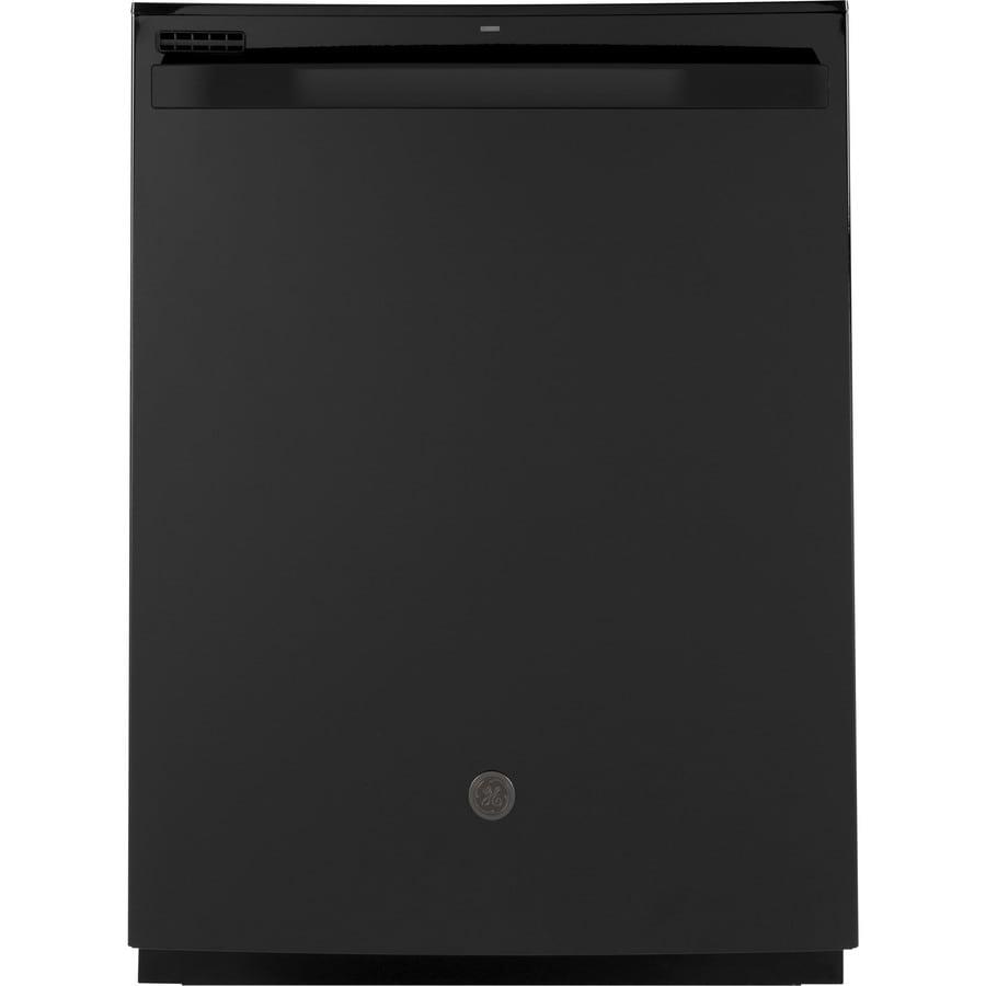 Shop Ge 24 In Black Dishwasher With Piranha Hard Food: GE Dry Boost 50-Decibel Hard Food Disposer Built-in