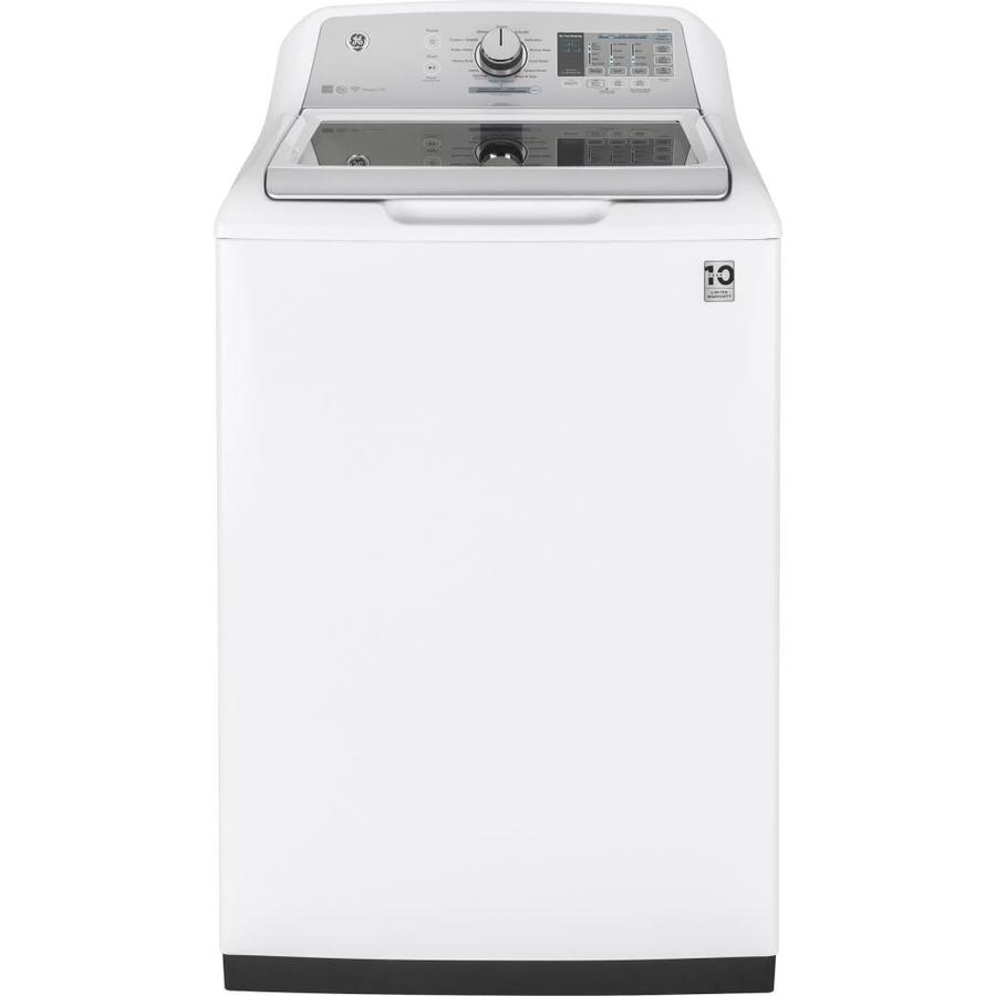 GE 4.9-cu Ft High Efficiency Top-Load Washer With Agitator