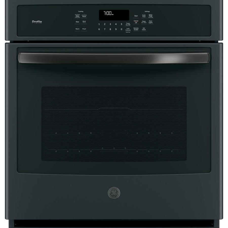 Shop Ge Profile Self Cleaning And True Convection Single