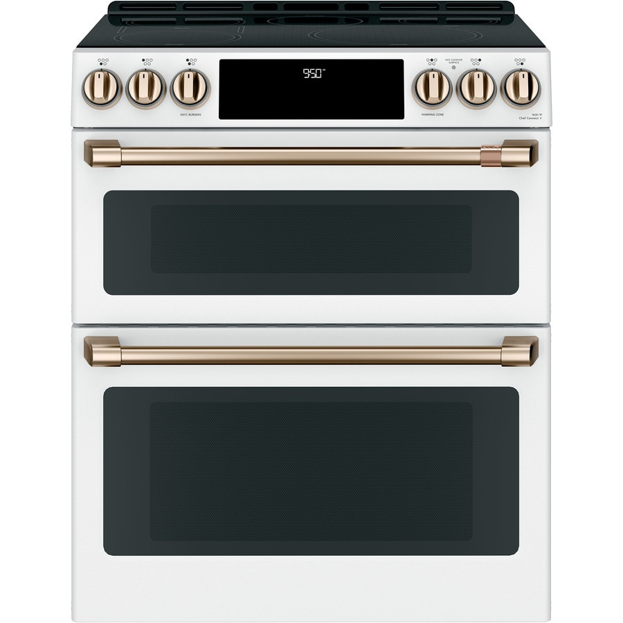 Cafe 30 In Side Front Control Induction And Convection