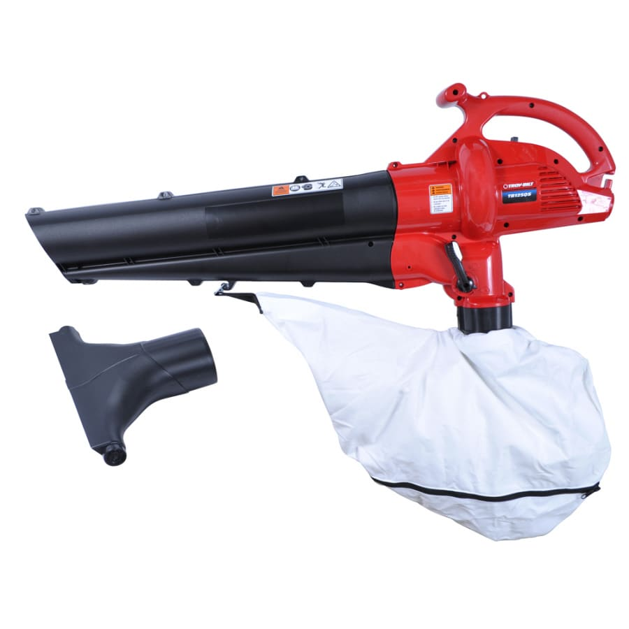 Troy-Bilt 12-Amp 424-CFM 157-MPH Medium-Duty Corded Electric Leaf Blower with Vacuum Kit