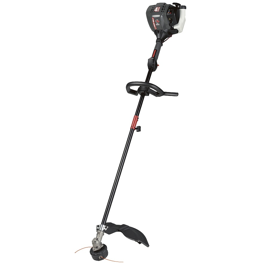 Troy-Bilt 25-cc 4-Cycle Xp 18-in Straight Shaft Gas String Trimmer Edger Capable (Attachment Compatible)
