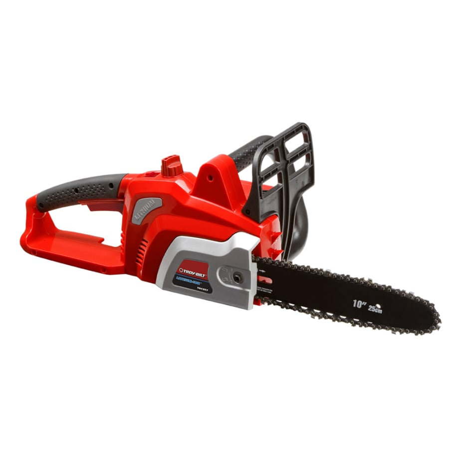 Troy-Bilt 20 Lithium Ion (Li-ion) 10-in Cordless Electric Chainsaw