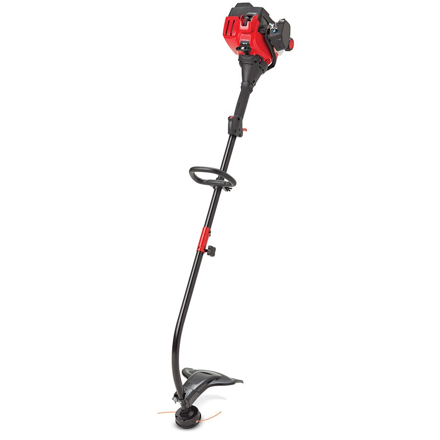 Troy-Bilt 25cc 2-Cycle 17-in Curved Shaft Gas String Trimmer