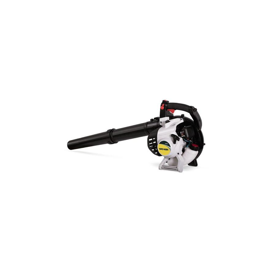Yard-Man 27cc 2-Cycle 150-MPH 475-CFM Medium-Duty Gas Leaf Blower with Vacuum Kit