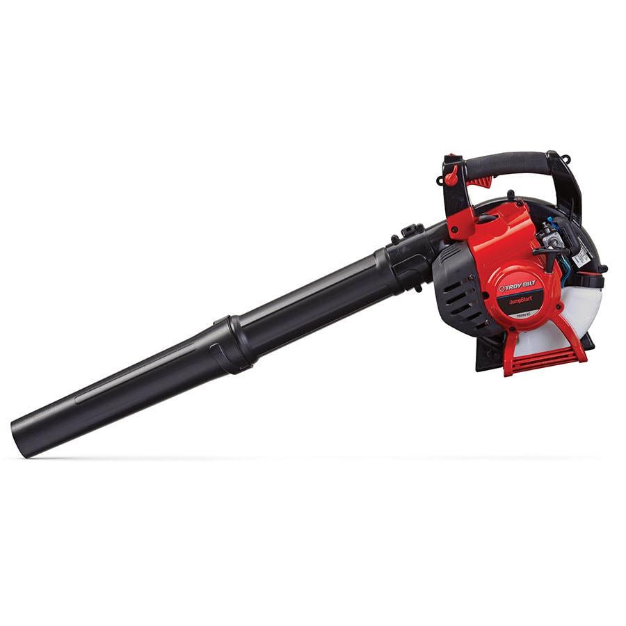 Troy-Bilt 27cc 2-Cycle 150-MPH 450-CFM Medium-Duty Gas Leaf Blower with Vacuum Kit