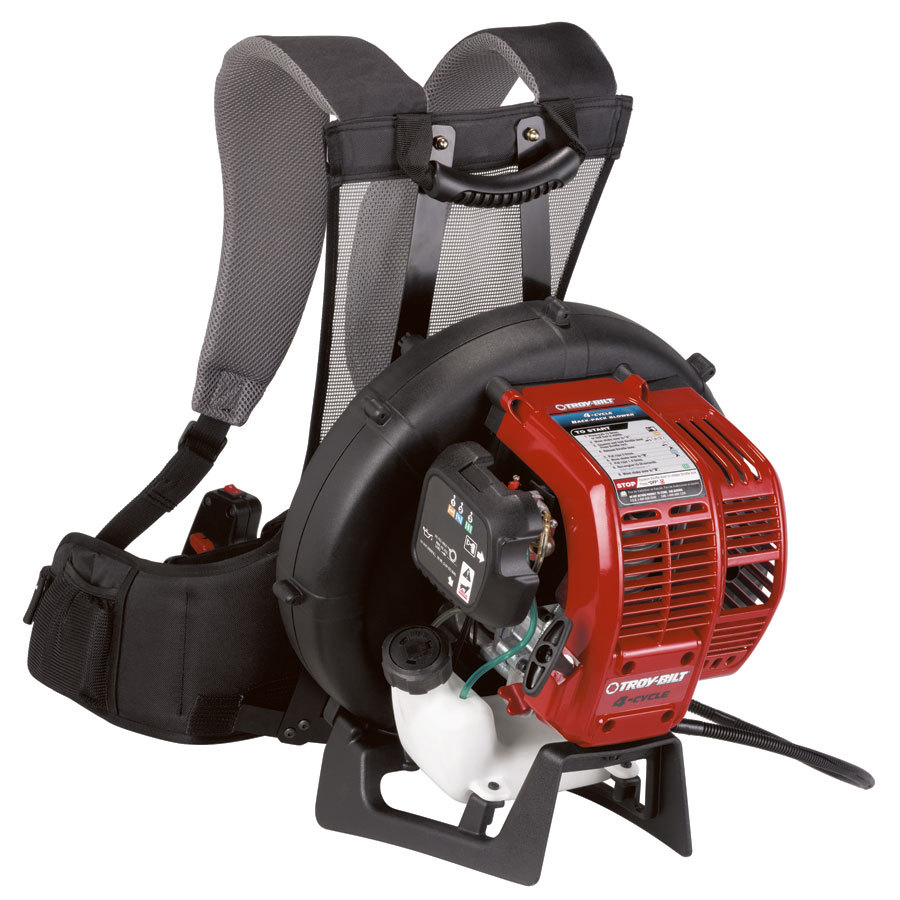 Troy-Bilt 32cc 4-Cycle 150-MPH 500-CFM Heavy-Duty Gas Backpack Leaf Blower