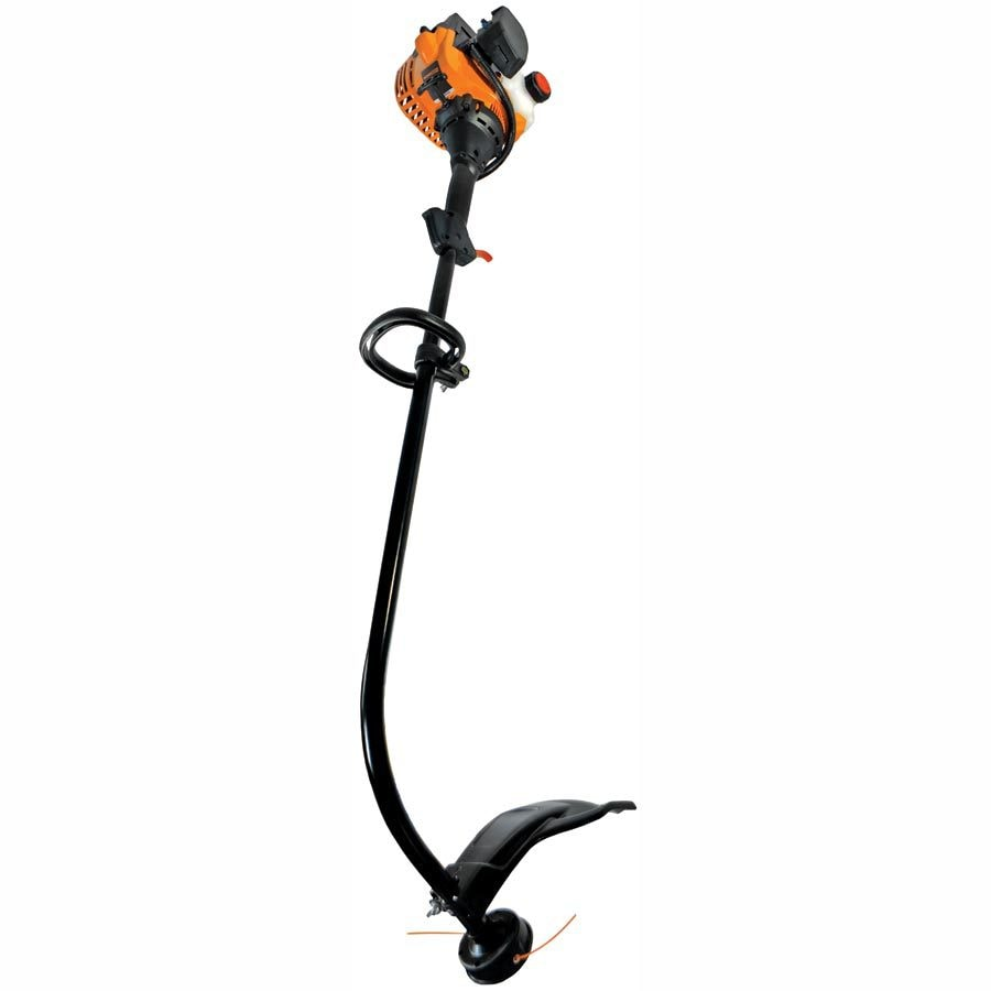 25cc 2-Cycle 17-in Curved Shaft Gas String Trimmer