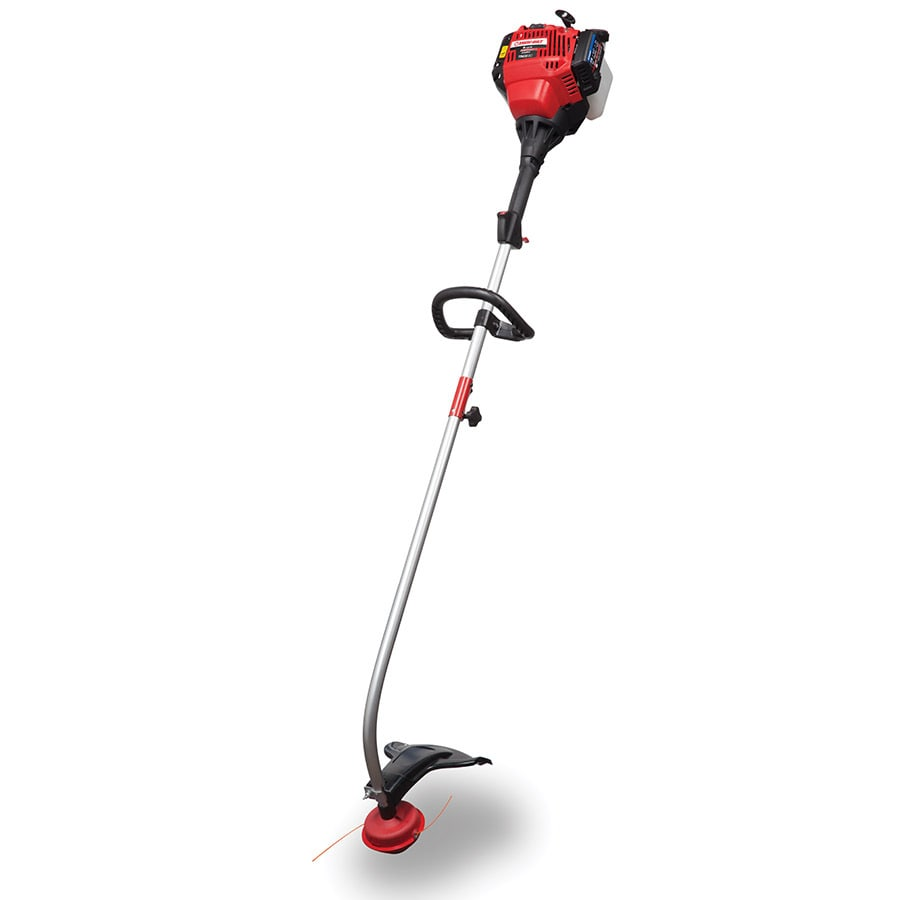 Troy-Bilt 30-cc 4-Cycle 17-in Curved Shaft Gas String Trimmer