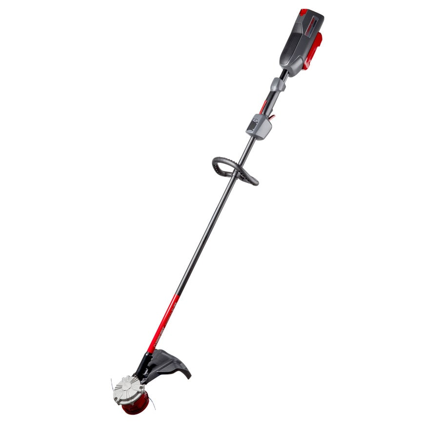 Troy-Bilt Core 40-Volt Max 16-in Straight Brushless Cordless String Trimmer (Battery Included)