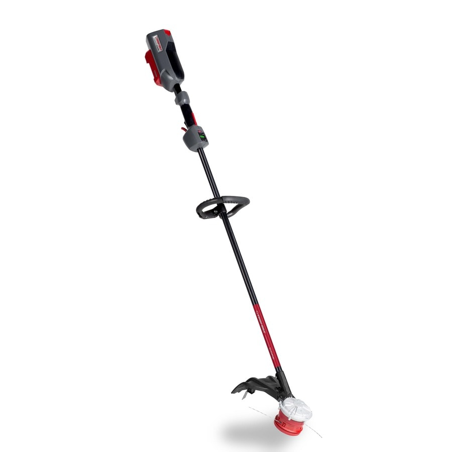 Troy-Bilt CORE 40-volt Max 16-in Straight Brushless Cordless String Trimmer (Battery Not Included)
