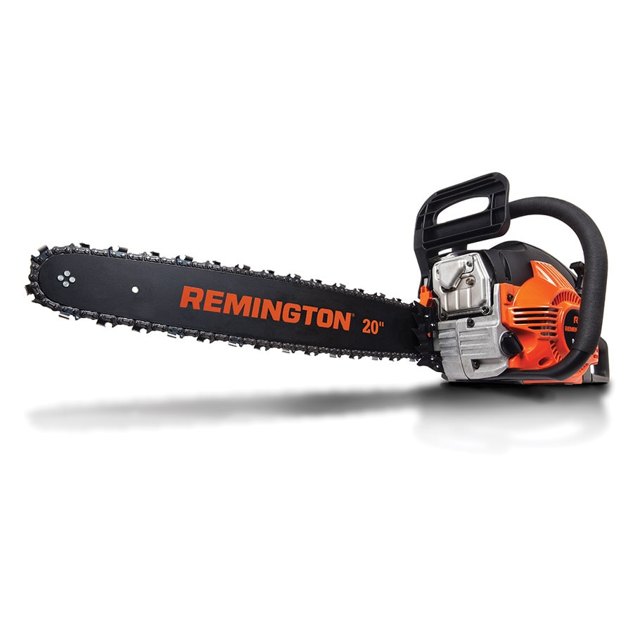 Shop gas chainsaws at lowes remington 46 cc 2 cycle 20 in gas chainsaw with case greentooth Gallery