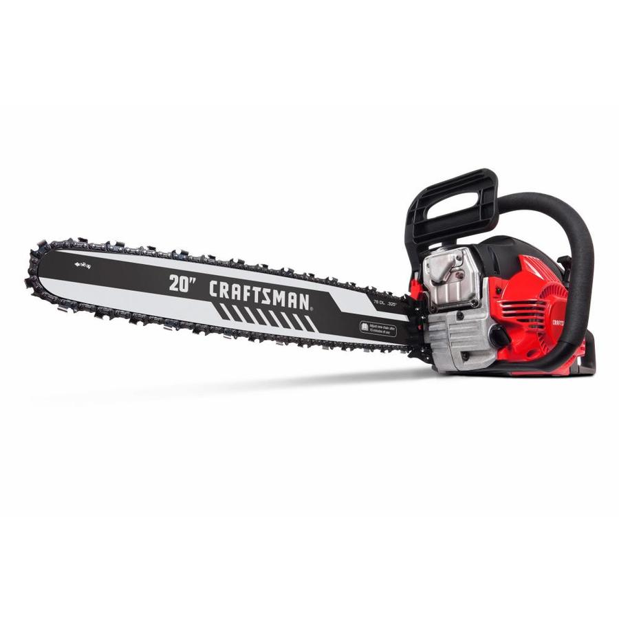CRAFTSMAN 46-cc 2-cycle 20-in Gas Chainsaw at Lowes com