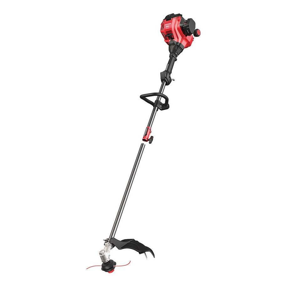 CRAFTSMAN WS210 25-cu cm 2-cycle 17-in Straight Shaft Gas String Trimmer with Attachment Capable and Edger Capable