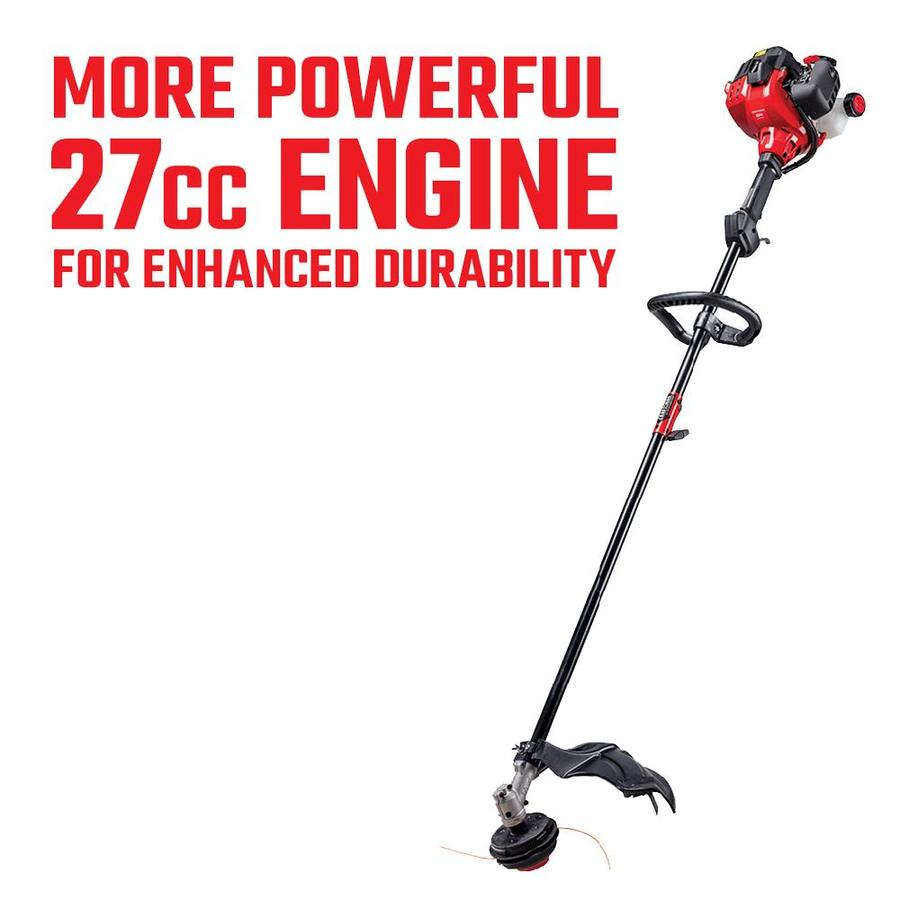 CRAFTSMAN 27-cc 2-cycle 17-in Straight Shaft Gas String Trimmer with