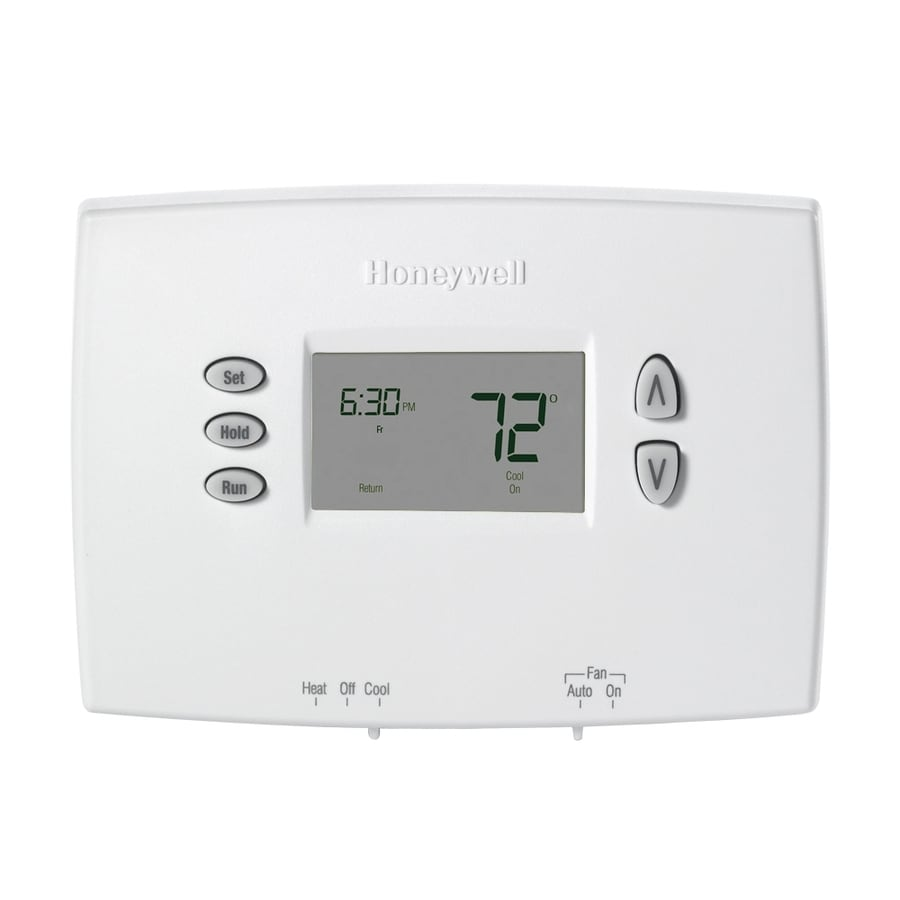 shop programmable thermostats at lowes com rh lowes com honeywell 5000 digital thermostat installation manual honeywell 5000 digital thermostat installation manual