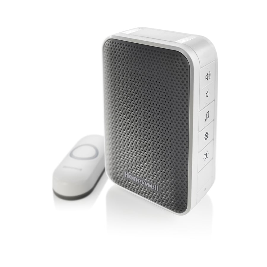 Honeywell White Wireless Doorbell  sc 1 st  Loweu0027s : buy doorbell - pezcame.com