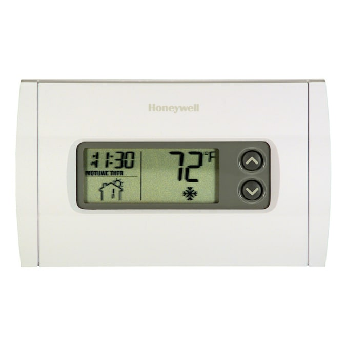 Honeywell Programmable Thermostat In The Programmable