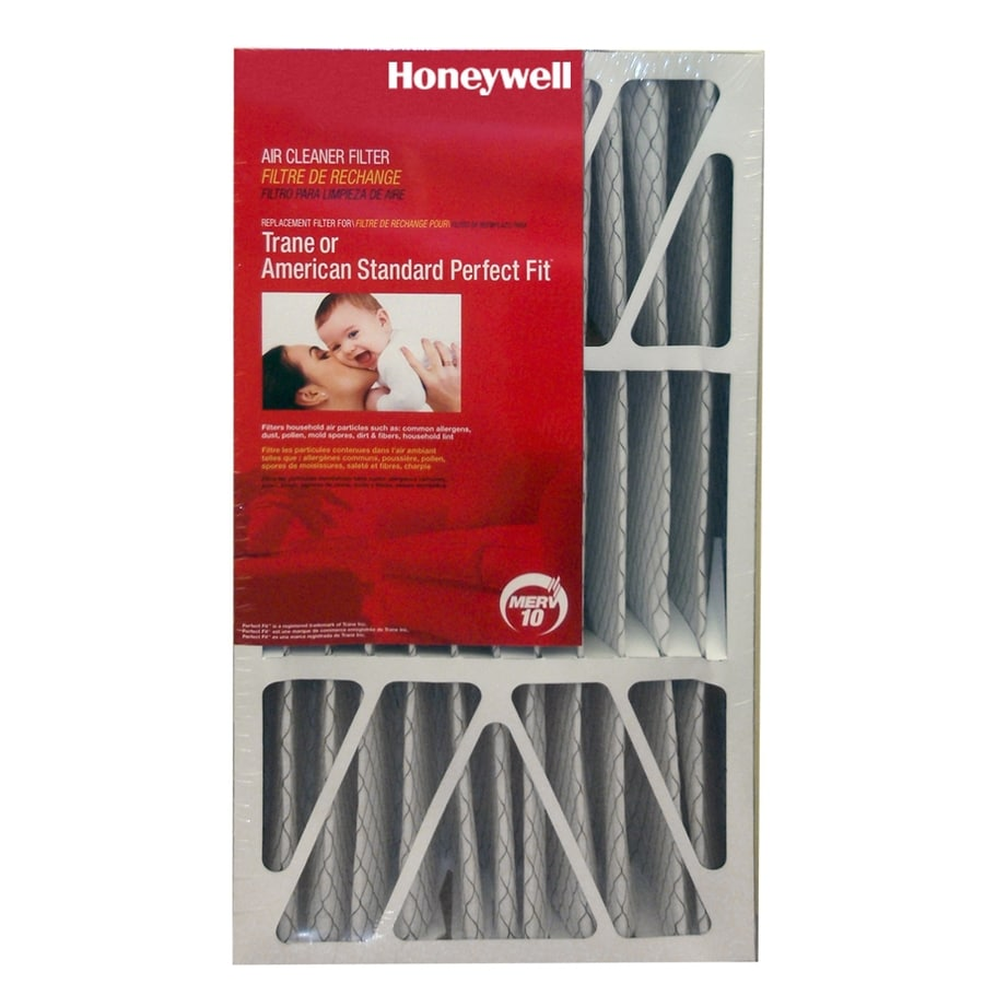 Honeywell (Common: 26-in x 21-in x 5-in; Actual: 25.838-in x 20.75-in x 4.94-in) Electrostatic Pleated Air Filter
