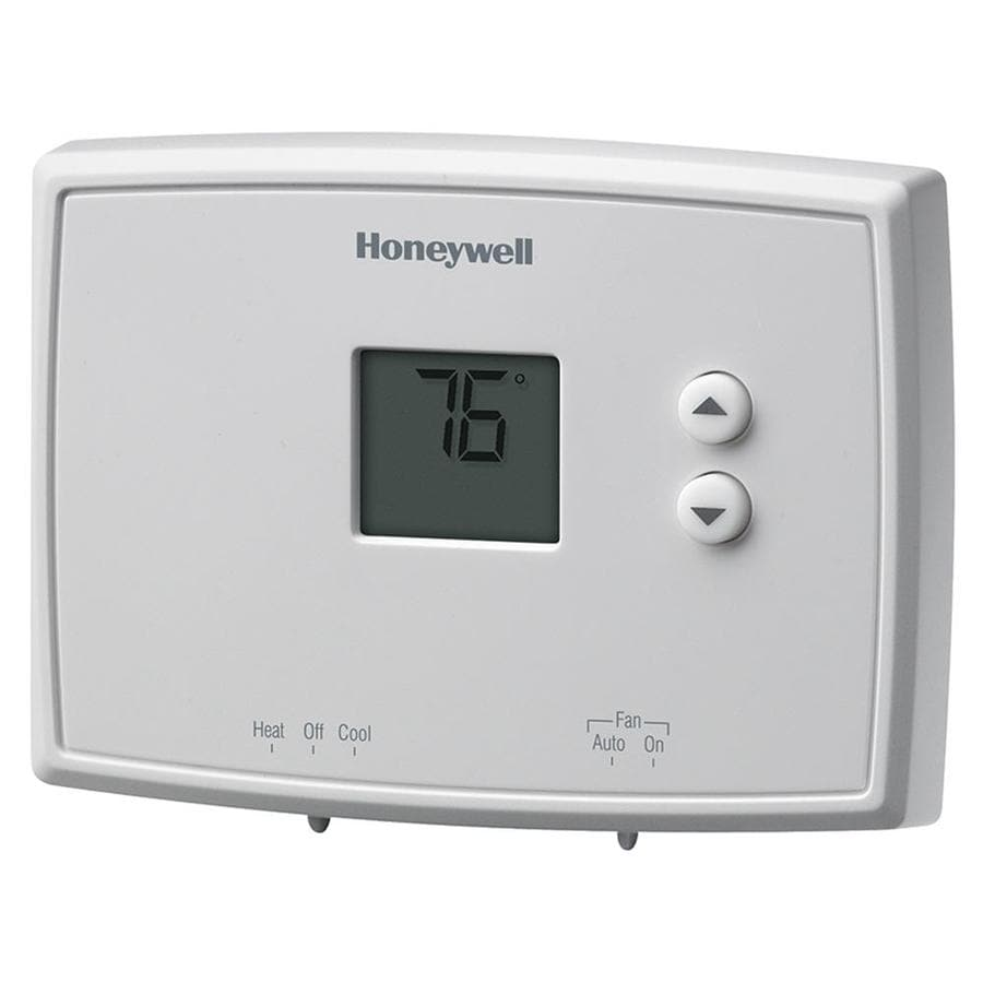 Shop Non Programmable Thermostats At Simple Comfort 2200 Thermostat Wiring Diagram Honeywell Electronic