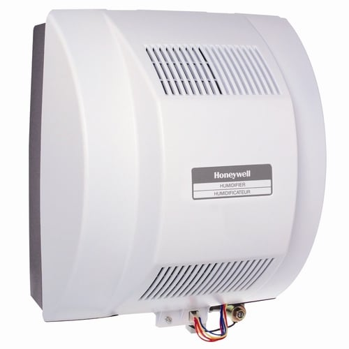 Honeywell Whole House Humidifier Whole House Evaporative Humidifier For Rooms 1001 Sq Ft In The Humidifiers Department At Lowes Com