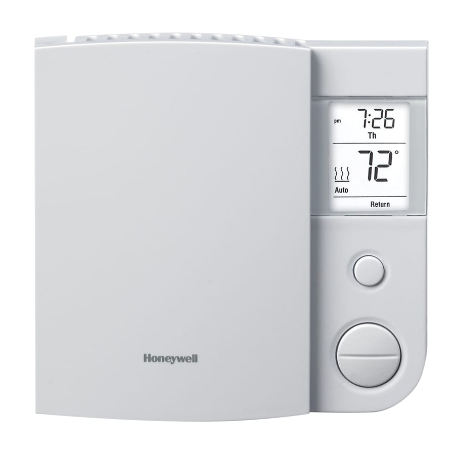Shop Honeywell Line Volt Programmable Thermostat Single Zone Connected Rix Petroleum