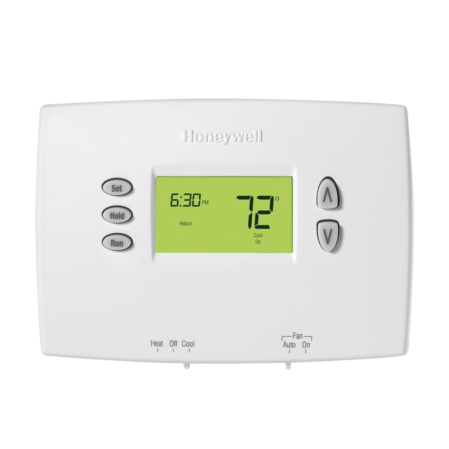 shop honeywell basic digital programmable thermostat at lowes com rh lowes com honeywell thermostat rth230b manual download honeywell thermostat rth230b manual