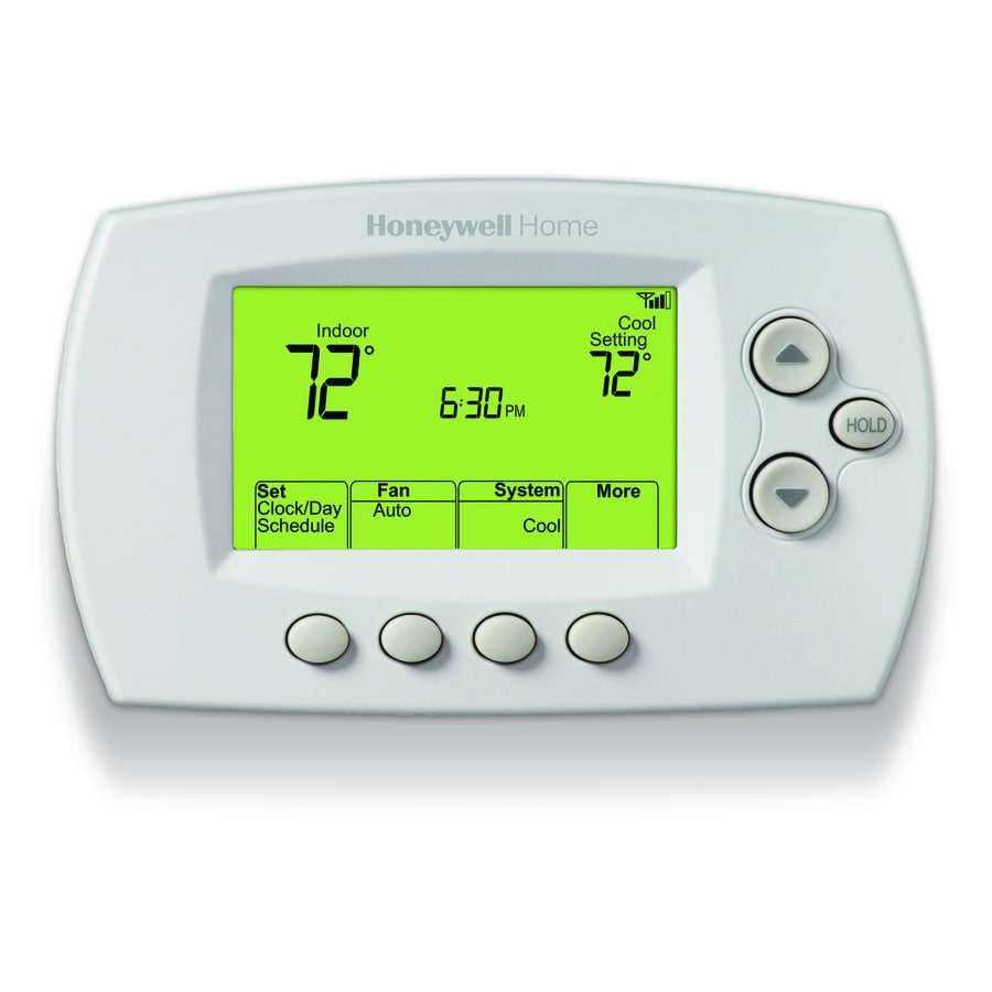 Honeywell Thermostat Wiring Wifi White Wi Fi 7 Day Programmable With Built In