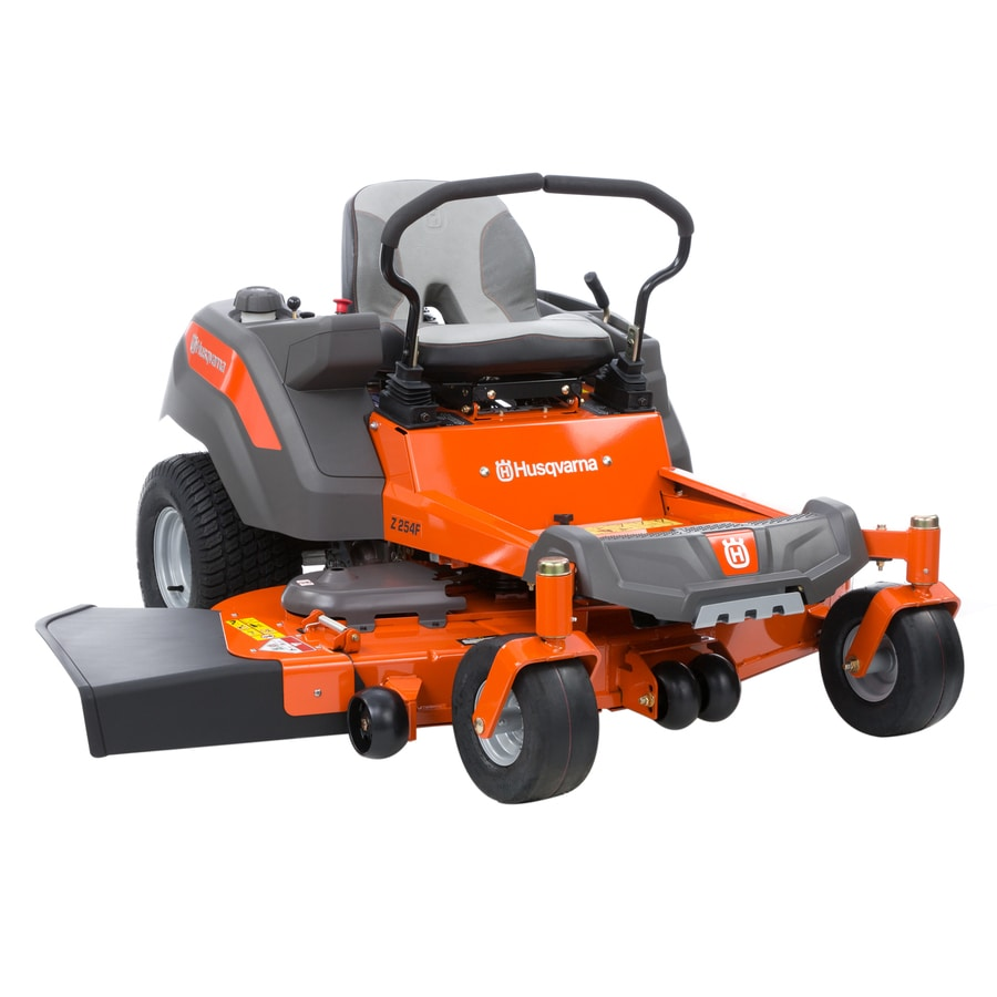 Husqvarna Z254F 23-HP V-twin Dual Hydrostatic 54-in Zero-turn Lawn Mower with Mulching Capability (Kit Sold Separately)