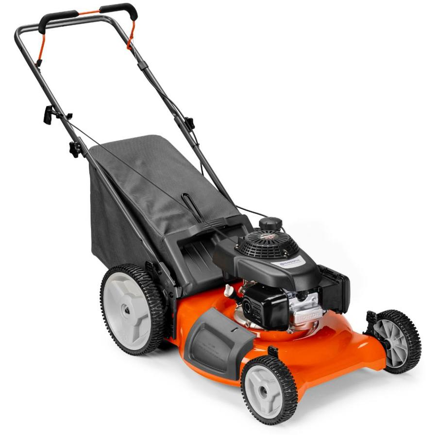 Husqvarna 7021P 160-cc 21-in Push Gas Lawn Mower with ...