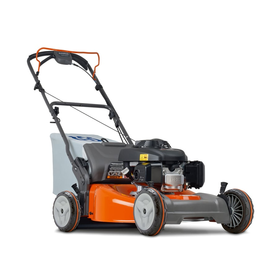 Husqvarna HU700L 160-cc 22-in Self-Propelled Rear Wheel Drive Rear Discharge Gas Lawn Mower with Mulching Capability with Honda Engine