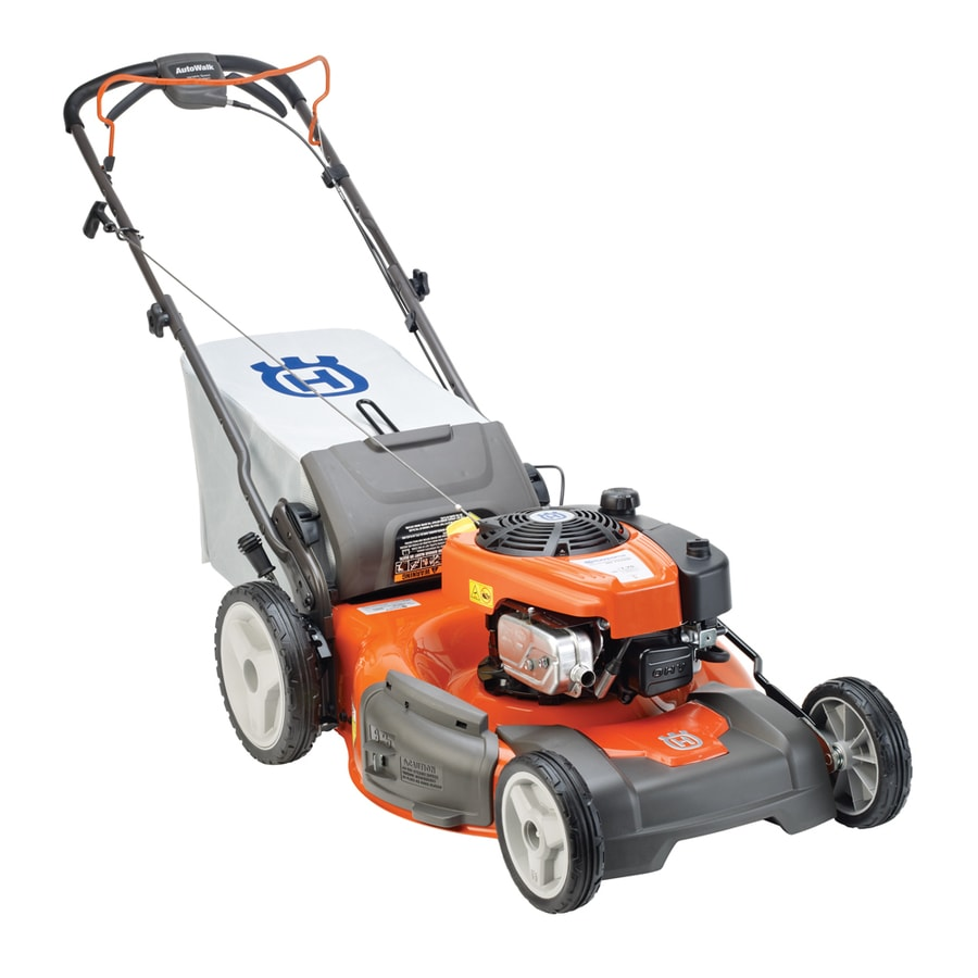 Husqvarna 160-cc 22-in Self-Propelled Rear Wheel Drive 3-in-1 Gas Lawn Mower with Mulching Capability