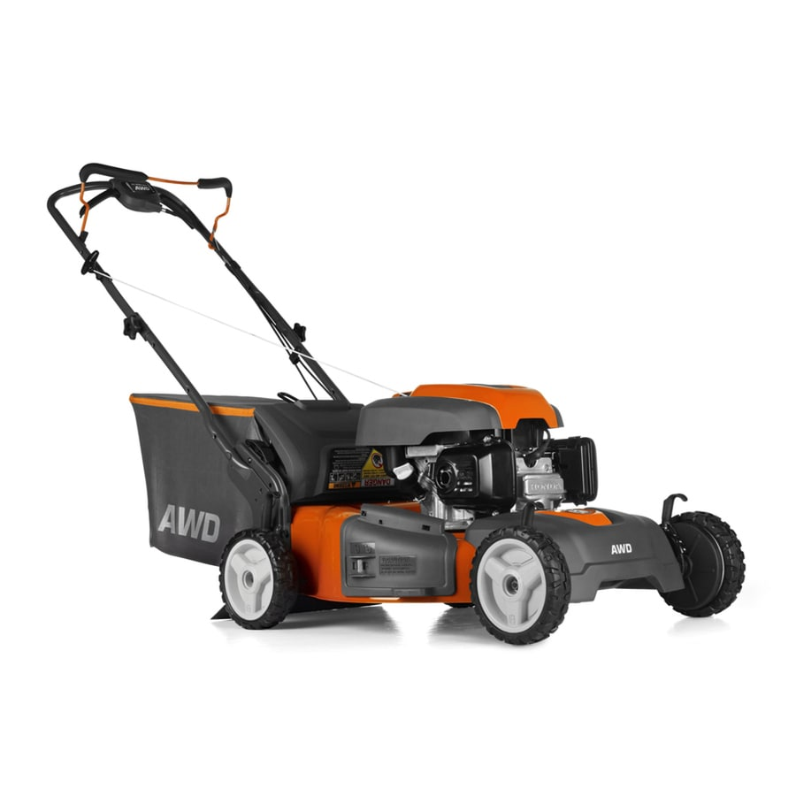 Husqvarna HU800AWD 190-cc 22-in Self-propelled All-wheel Drive Gas Lawn Mower with Honda Engine