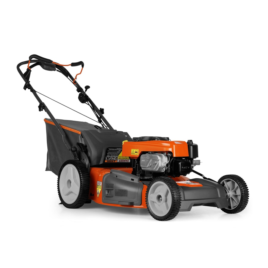 Husqvarna 175-cc 22-in Self-Propelled Rear Wheel Drive 3-in-1 Gas Lawn Mower with Mulching Capability