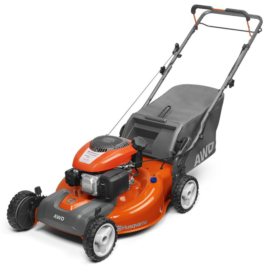 Husqvarna HU675AWDca 149cc 22-in Self-Propelled All-Wheel Drive Residential Gas Lawn Mower with Mulching Capability