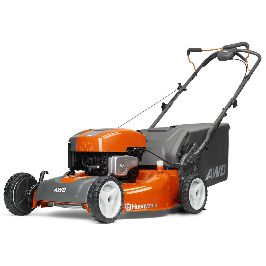 Husqvarna 190-cc 22-in Self-Propelled All-Wheel Drive 3 in 1 Gas Push Lawn Mower with Briggs & Stratton Engine