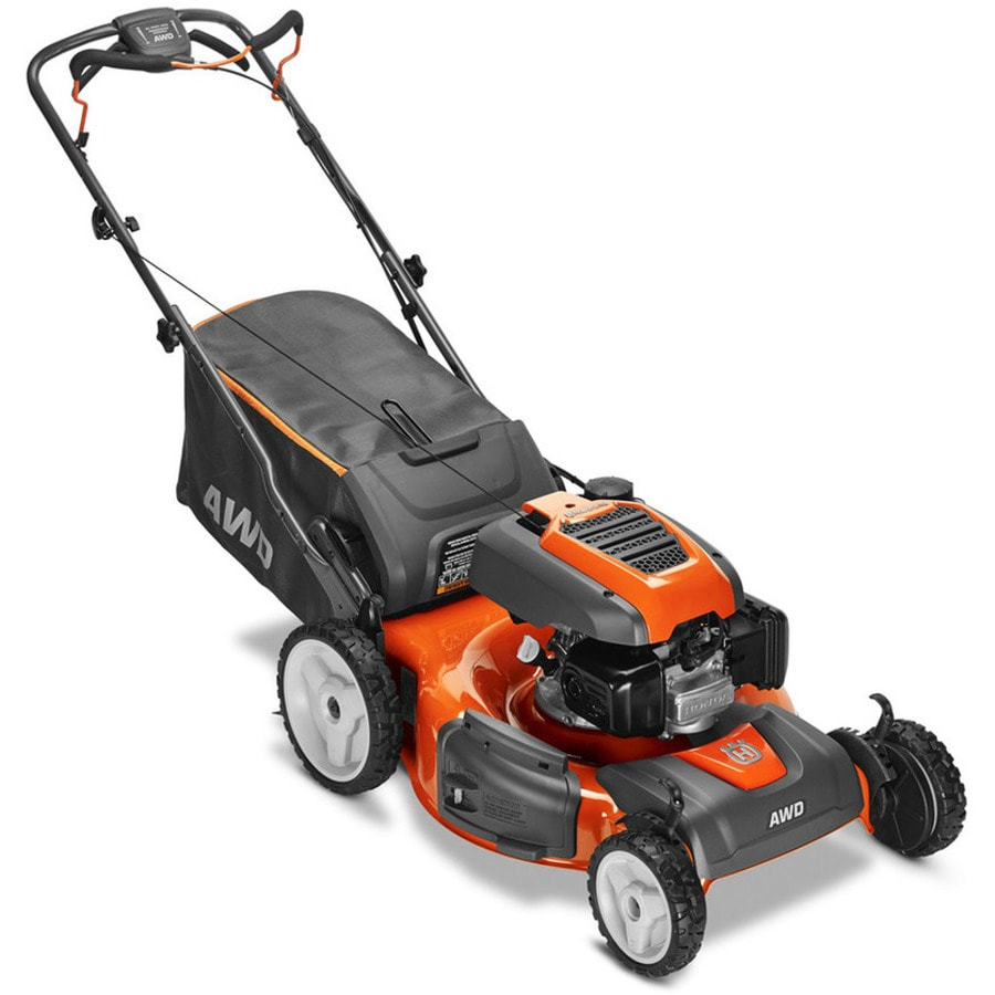 Husqvarna Hu800Awdh 190cc 22-in Self-Propelled All-Wheel Drive Residential Gas Lawn Mower Mulching Capable