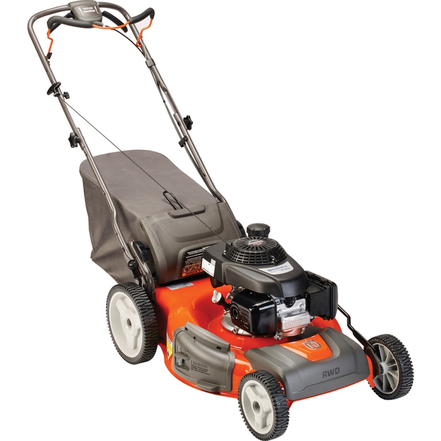 Husqvarna HU700H 160cc 22-in Self-Propelled High Rear Wheel Drive Gas Lawn Mower with Mulching Capability